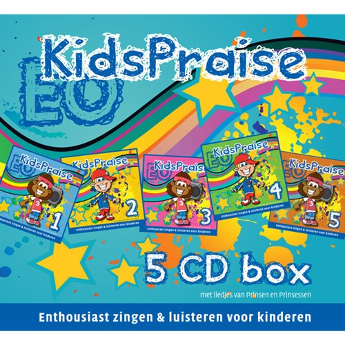 KidsPraise 5-CD box (CD)
