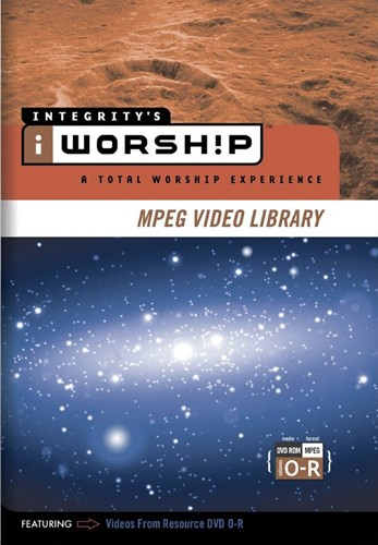 Iworship mpeg library o-r (DVD-rom)