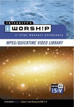 Iworship mpeg library s-v (DVD-rom)