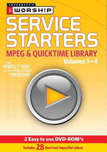 Iworship service starters 1-4 (DVD-rom)