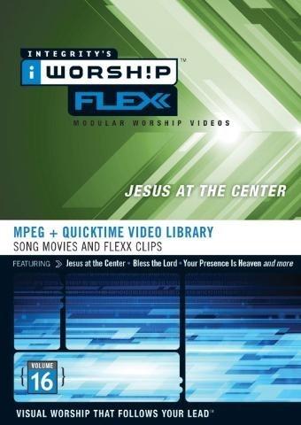 Iworship flexx 16 - Jesus at centre (DVD-rom)