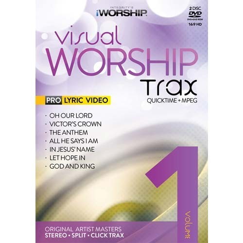 Visual worship trax vol 1 (DVD-rom)