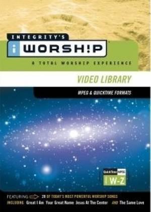 Iworship mpeg library w-z (DVD-rom)