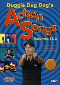 Duggie dug dug''s action songs 1&2 (DVD)