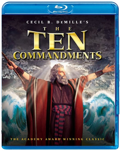 Ten Commandments, The (BLURAY) (Bluray)