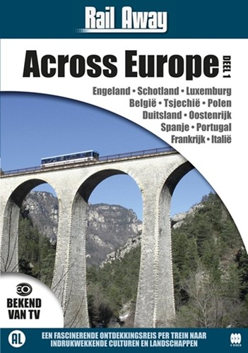 Rail Away : across Europe 1 (DVD)