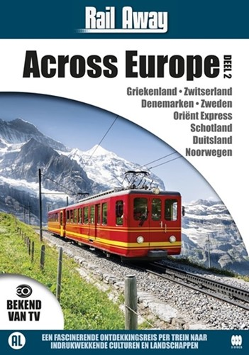 Rail Away : across Europe 2 (DVD)