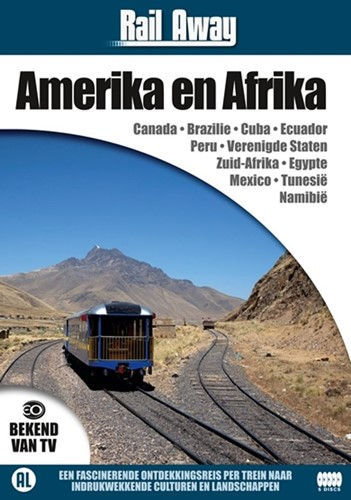 Rail Away : Continenten Box 2 (Amerika e (DVD)