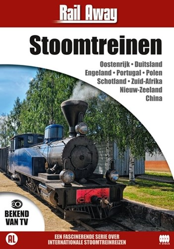Rail Away : Stoomtreinen (DVD)
