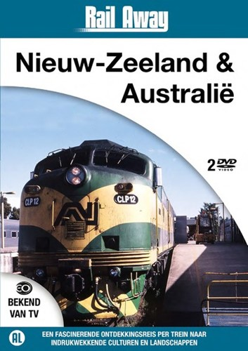 Rail Away Nieuw-Zeeland & Australie (DVD)