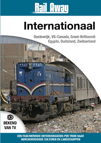 Rail Away Internationaal (DVD)