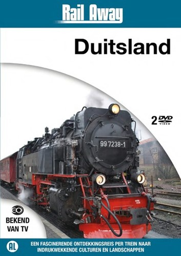 Rail Away Duitsland (DVD)