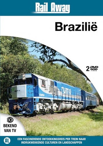 Rail Away Brazilie (DVD)