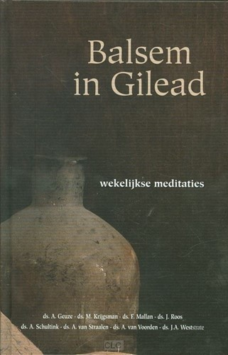 Balsem in Gilead (Hardcover)