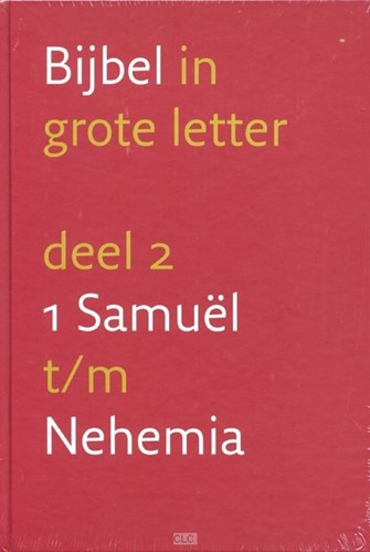 Bijbel in grote letter deel 2 (Hardcover)