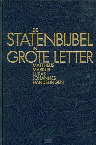 De StatenBijbel in grote letter