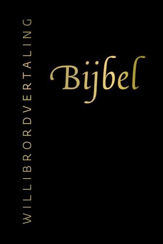 Bijbel (Willibrordvertaling) in leer met goudsnee, rits en koker (Hardcover)