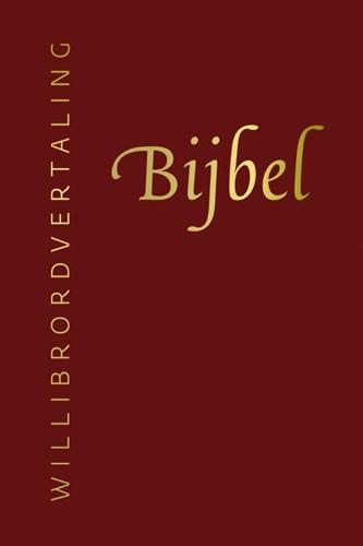 Bijbel (Willibrordvertaling) in leer met goudsnee (rood) (Hardcover)