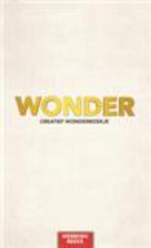 Wonder -white (Boek)