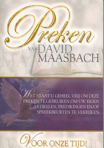 Preken van David Maasbach (Hardcover)