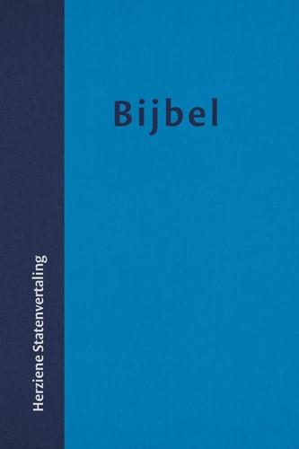 HuisBijbel (HSV) met vivella omslag en duimgrepen (Hardcover)