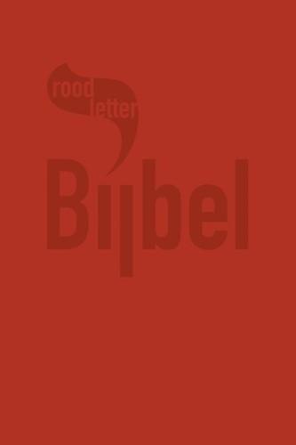 RoodletterBijbel (Kunstleer)