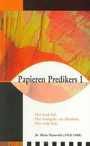 Papieren Predikers I (Paperback)