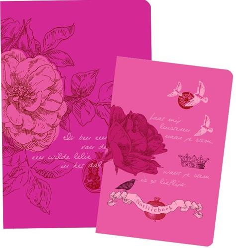 Pakket Bijbel NBV vrouwen en notitieboek (Hardcover)