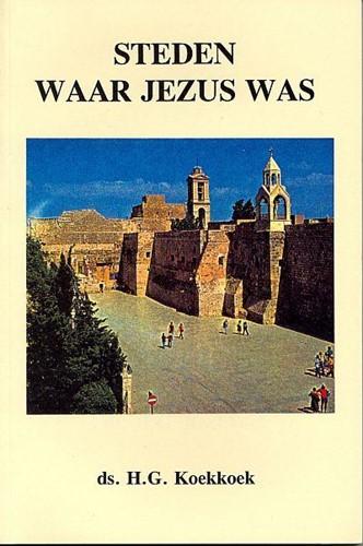Steden waar Jezus was (Boek)