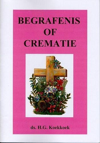 Begrafenis of Crematie (Boek)