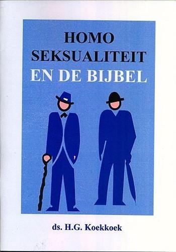 Homoseksualiteit en de Bijbel (Boek)