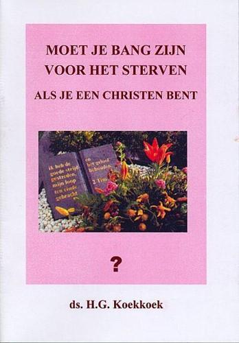 Moet je bang zijn voor het sterven als je een christen bent? (Boek)