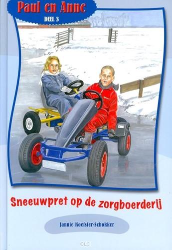 Sneeuwpret op de zorgboerderij (Hardcover)