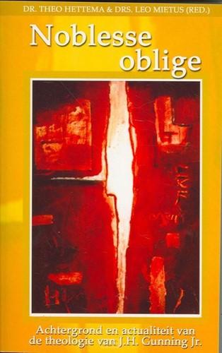 Noblesse oblige (Boek)