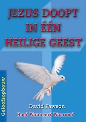 Jezus doopt in een Heilige Geest (Hardcover)