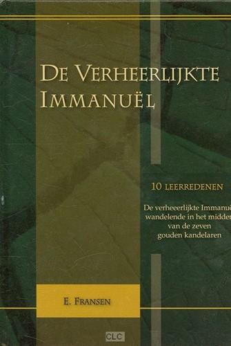 De verHeerlijkte Immanuel (Boek)