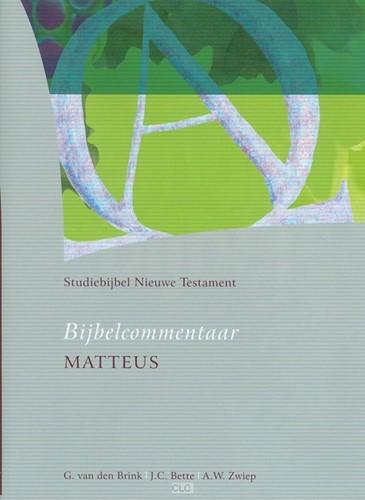 Bijbelcommentaar Matteüs (Hardcover)