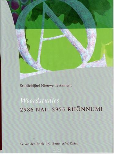 Woordstudies 2986 Nai - 3955 Rhonnumi (Hardcover)