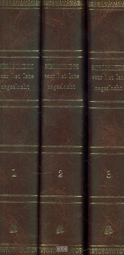Bibliotheek voor het late nageslacht (Boek)