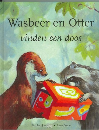 Wasbeer en Otter vinden een doos (Boek)