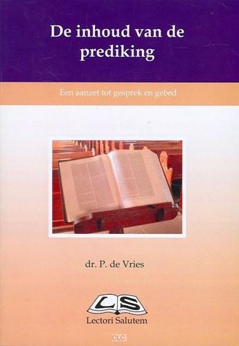 De inhoud van de prediking (Boek)