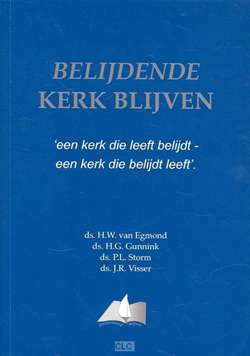 Belijdende kerk blijven (Hardcover)