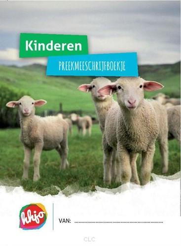 Kinderen preek-mee-schrijfboekje