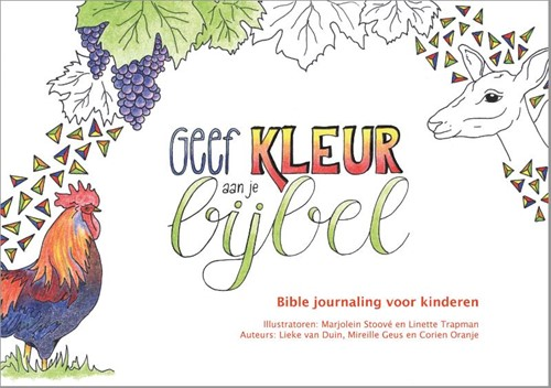 Geef kleur aan je Bijbel (Boek)