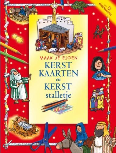 Maak je eigen Kerstkaarten en kerststalletje (Paperback)