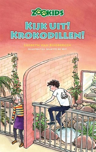 Kijk uit! Krokodillen! (Hardcover)