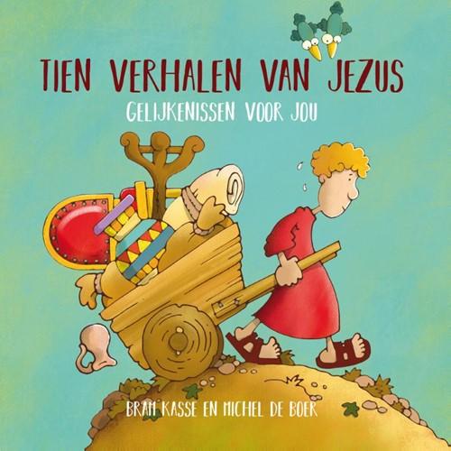 Tien verhalen van Jezus (Hardcover)