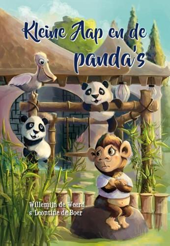 Kleine aap en de panda's (Hardcover)
