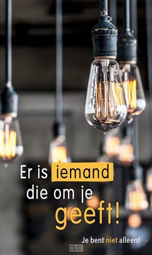 Er is Iemand die om je geeft / folder / set 25 (Losse bladen/Geniet)