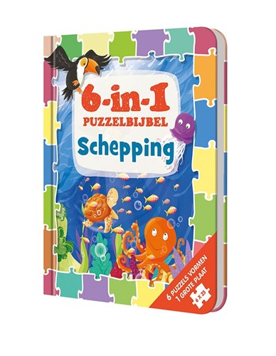 6-in-1 PuzzelBijbel (Hardcover)